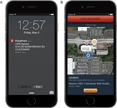 the pulsepoint respond mobile device application to crowdsource