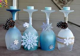Winter Wonderland Centerpieces by 12 Diy Wine Glass Christmas Decorations The Bright Ideas Blog