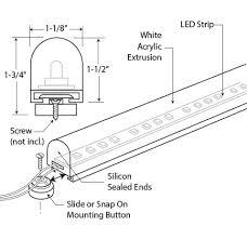 wet location led lighting dimmable led light strip