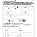 irregular plural nouns worksheet fts e info