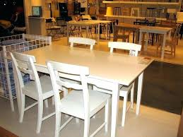 dining room furniture ikea pertaining to modern household white