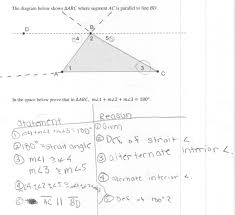 Angle Bisectors Worksheet Triangle Sum Proof Students Are Asked Prove That The Measures Of
