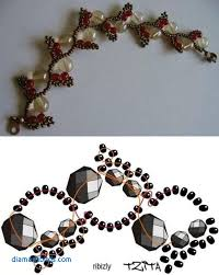 beading bracelet tutorials images Beaded jewelry designs elegant flower chain seed bead tutorials jpg