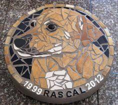 memorial stepping stones personalized engraved pet memorial step 75 diameter in