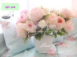 Wholesale Silk Flower Arrangements - aliexpress com buy noble large silk peony flowers artificial