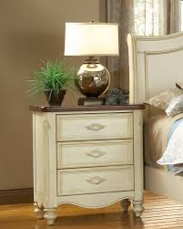 American Woodcrafter Amazon Com Chateau 3 Drawer Nightstand Home U0026 Kitchen