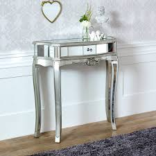 small half moon console table with drawer console tables astounding mirrored half moon console table hd