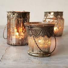 mercury glass tea light holders by the orchard pretty house