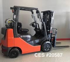 toyota main ces 20587 toyota 8fgcu25 propane forklift coronado equipment sales