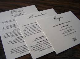 wedding inserts amazing designing insert cards for wedding invitations