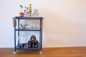 Ikea Kitchen Cart Makeover - 14 inspiring diy bar cart designs and makeovers