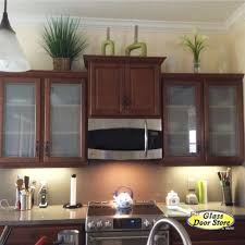 Frosted Glass For Cabinet Doors - Kitchen cabinets with frosted glass doors