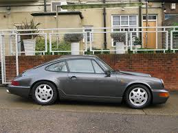 porsche slate gray metallic porsche 964 c4 coupe our stock hendon way motors