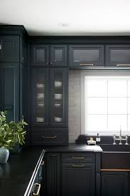what hardware looks best on black cabinets breaking my kitchen cabinetry hardware room for tuesday