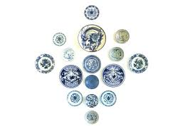 Staggering Decorative Plates Wall Hanging To her With Exotic For