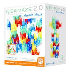 amazon com mindware q ba maze 2 0 the next generation marble maze