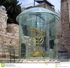 jerusalem menorah golden menorah in jerusalem israel editorial stock image image