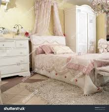 Bedroom Furniture Expensive Interior Luxurious Baby Bedroom Rococo Style Stock Photo 10766290