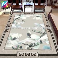 Area Rug Manufacturers High Quality Wool Traditional Pattern Custom Flower Rug