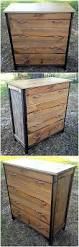 Repurpose Changing Table by Reclaiming Ideas For Used Shipping Wood Pallets Wood Pallet