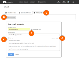 how to create email templates gmail onepagecrm help center