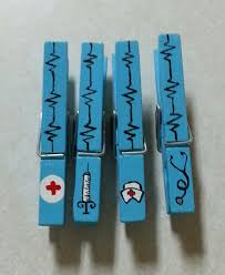 nurse u0027s gift clothespin magnets set of 4 by liliesandpearls 3 00