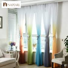 popular curtains for bedroom rainbow buy cheap curtains for