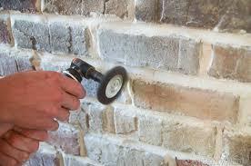 Cleaning Bricks On Fireplace by Grouting Brick Veneer U2022 Vintage Revivals