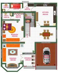 bungalow floor plan in india