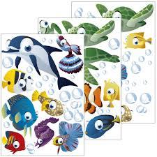 amazon de wandsticker unterwasserwelt fische ozean