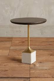 marble wood coffee table wooden cube marble base side table