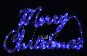 led merry christmas light sign blue led lights for outdoor signs ls and lighting by iadpnet