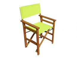 fauteuil realisateur fauteuil de metteur en scène pliant turquoise anis ou