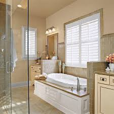 Bathroom With Two Separate Vanities by Luxurious Master Bathroom Design Ideas Southern Living