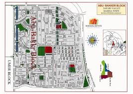 safari zone map bahria town rawalpindi and islamabad maps manahil estate