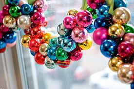 pretty ornaments invitation template
