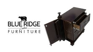 concealed storage espresso nightstand youtube