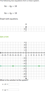 systems of equations with graphing 5x 3y u003d7 u0026 3x 2y u003d8 video