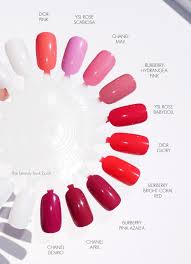 burberry beauty runway nail collection pink tones hydrangea pink