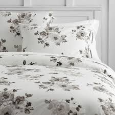 White And Cream Bedding Junk Gypsy Country Blooms Duvet Cover Pbteen