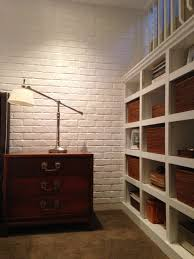 Bedroom Ideas Brick Wall Interior Brick Paneling Zamp Co