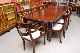 Victorian Dining Room Chairs Antique Victorian 8ft Mahogany Dining Table 10 Chairs