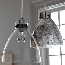 Gray Pendant Light Industrial Pendant U2013 Glass West Elm