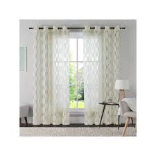 Pottery Barn Ruffle Blackout Panel by Vcny Aria Curtain Brown Products