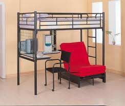 Desk With Bed Full Size Loft Bed With Desk Or Other Style Bed For Small Room