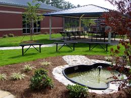 garden backyard garden ideas come with big minimalist gazebo and