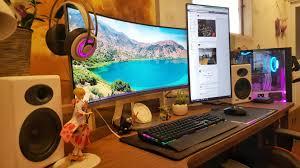 ordinateur de bureau jeux épinglé par tigr sur gaming setup
