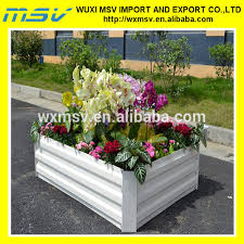 stylish corrugated galvanized raised beds for gardening view