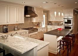 Brookhaven Cabinets New Bianco Romano Granite Kitchen Traditional With Brookhaven