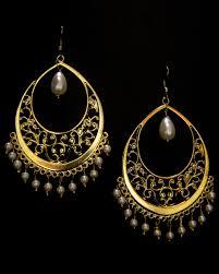 craftsvilla earrings buy antique gold filigree earrings online craftsvilla